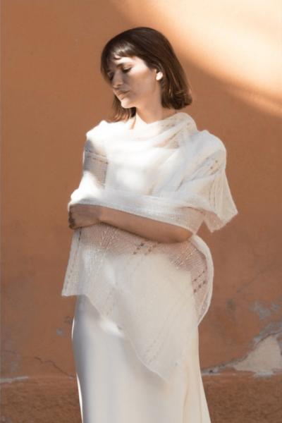 Lace shawl - Alba