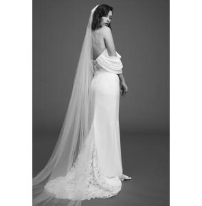 Wedding dress Rime Arodaky Duran back