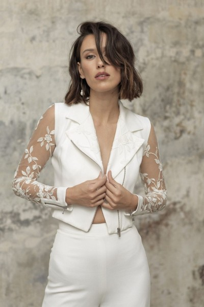 Wedding jacket Rime Arodaky Moss