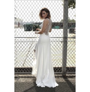 Wedding Dress Rime Arodaky AXL back