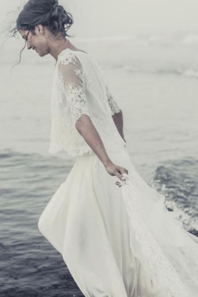 Wedding Top Laure de Sagazan Pagnol