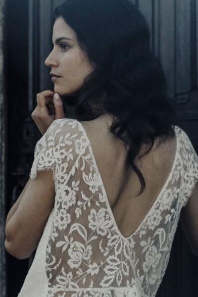 Wedding Top Laure de Sagazan Renard back