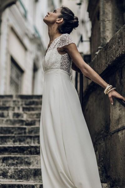 Wedding Dress Laure de Sagazan Zola