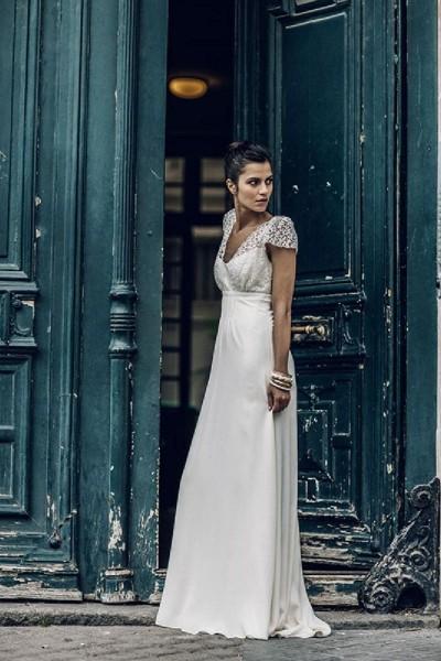 Wedding Dress Laure de Sagazan Zola full