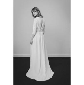 Wedding dress Donatelle Godart Claire de Lune back