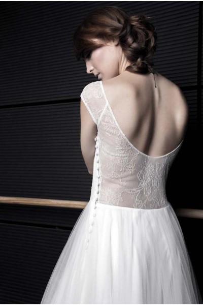 Wedding dress Atelier Swan Alice back