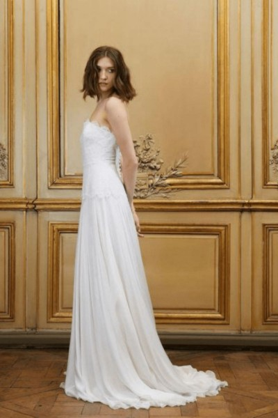 Wedding dress Delphine Manivet Arsene side