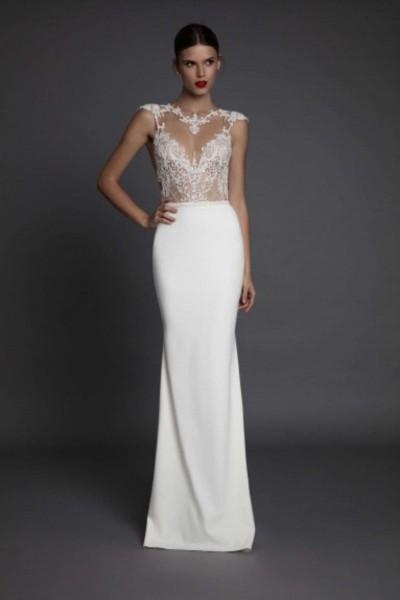 Wedding dress Muse by Berta Aurora full