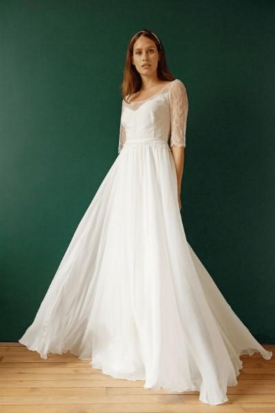 Wedding dress Maison Floret Clarence front
