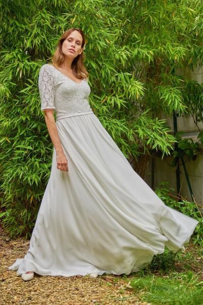 Wedding dress Maison Floret Curtis front