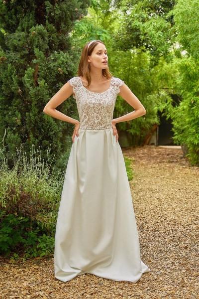 Wedding dress Maison Floret Dustin front
