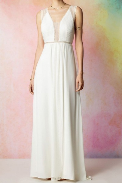 Wedding dress Rembo Styling Faubourg front