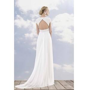 Wedding dress Rembo Styling Lotte back