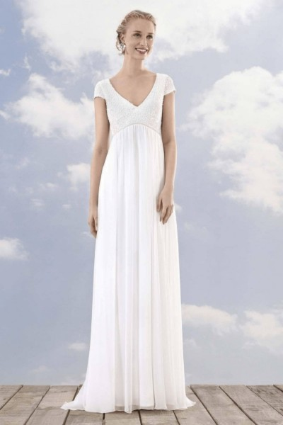 Wedding dress Rembo Styling Lotte front
