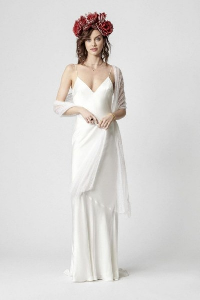 Wedding dress Rembo Styling Oh so silky front