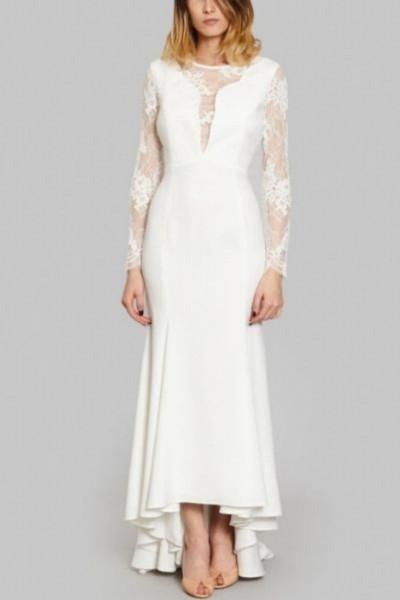 Wedding dress Harpe Romy front