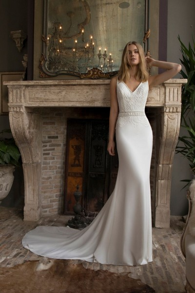 Wedding dress Modeca Damas front
