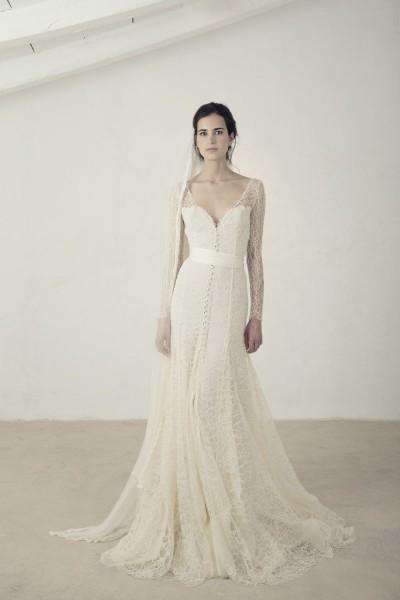 Wedding dress Cortana Citrino front