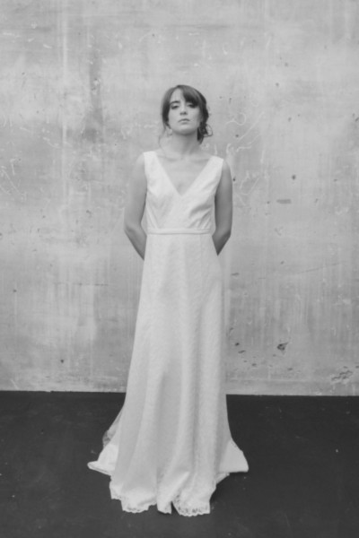 Wedding dress Atelier Swan Nadine front