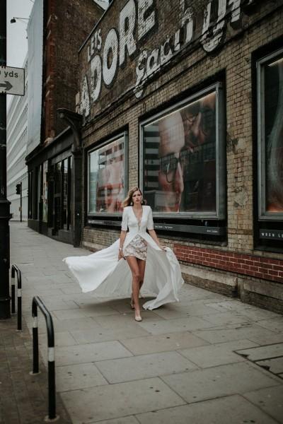 Wedding dress Manon Gontero Harrow front