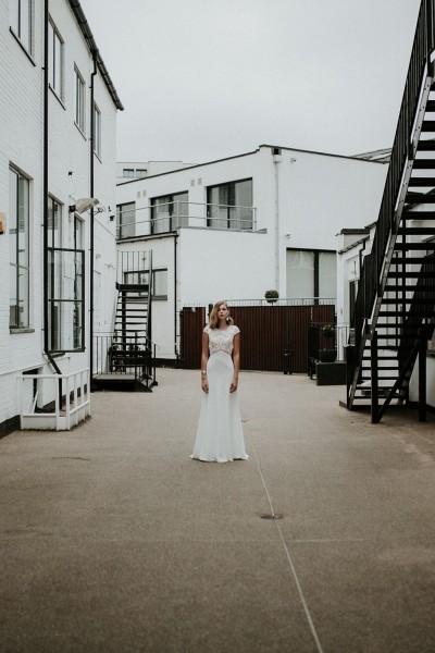 Wedding dress Manon Gontero Soho front