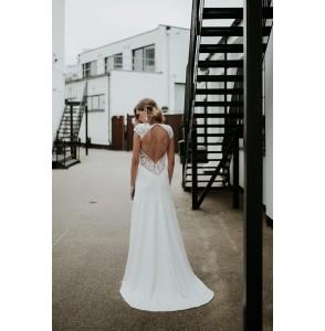 Wedding dress Manon Gontero Soho back