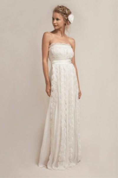 Wedding dress Saja Boho full