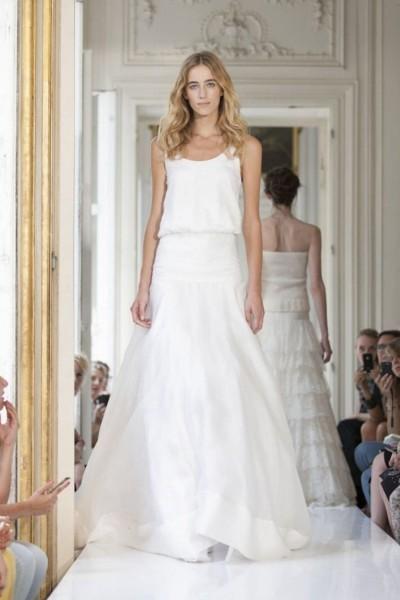 Wedding dress Delphine Manivet Lubin front