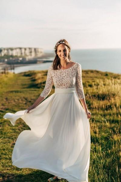 Wedding dress Oksana Kokhan Valentine front