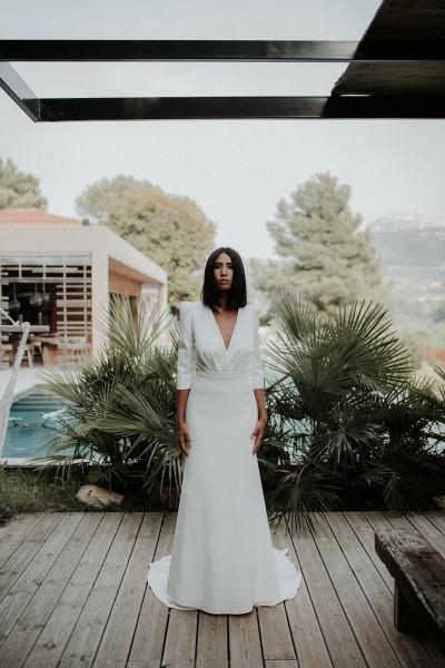 Wedding dress Manon Gontero Collection 2020 Kubu full