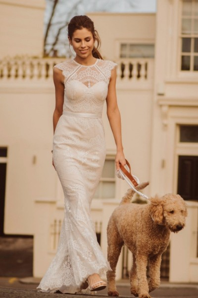 Wedding dress Catherine Deane Suri front
