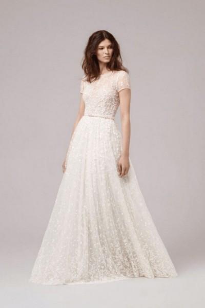 Wedding dress Anna Kara Sandy front