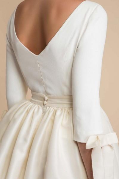 Wedding top Delphine Manivet Cyrus back