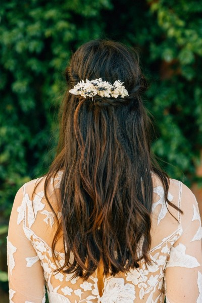 Wedding comb Les couronnes de Victoire Cassandre back