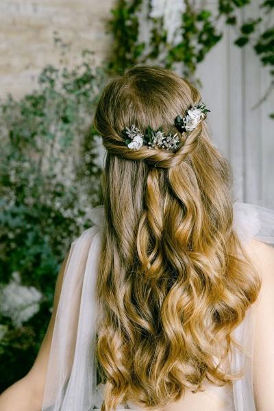 Wedding hairpins set les couronnes de victoire Pimprenelle back
