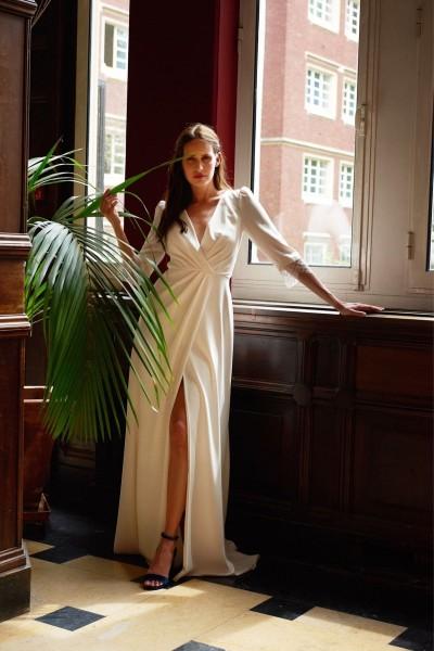 Wedding dress Maison Floret Sydney front