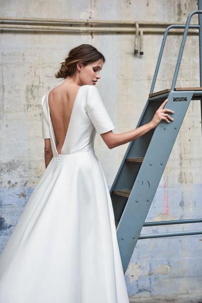 Wedding dress Maison Floret Connor back