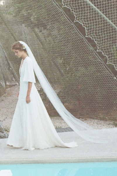 Wedding dress Donatelle Godart Mouvement side