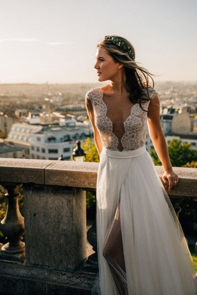 Wedding dress Oksana Kokhan Celestine front