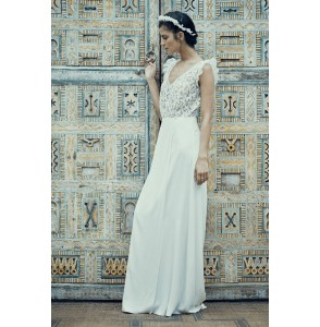 Wedding dress Laure de Sagazan Crimée side