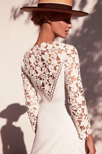 Wedding dress Margaux Tardits Ibère back