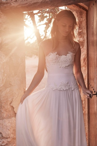 Wedding dress Margaux Tardits Holly front close up