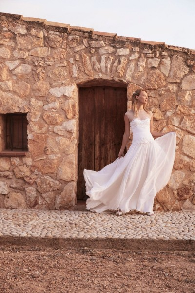 Wedding dress Margaux Tardits Holly front