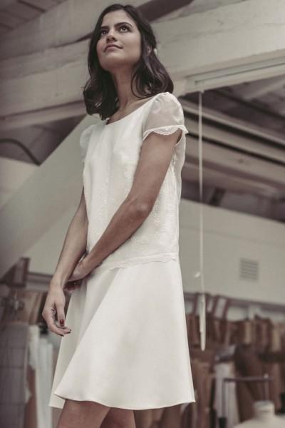 Wedding dress Laure de Sagazan Russell front