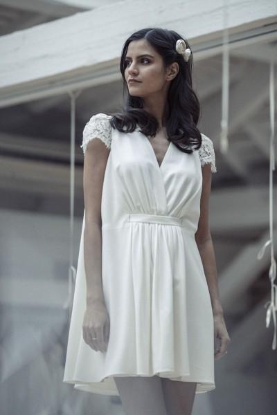 Wedding dress Laure de Sagazan Byron front