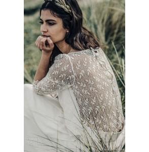 Wedding top Laure de Sagazan Grant back