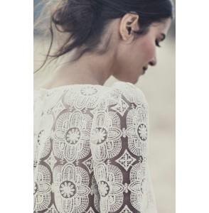 Wedding top Laure de Sagazan Attar back
