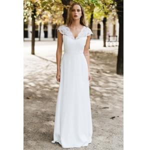 Wedding dress Harpe Trianon front