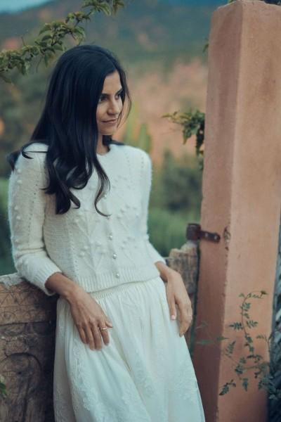 Wedding jumper Laure de Sagazan Valmy front