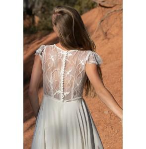Wedding dress Alba Serenade back